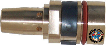 Best Welds Gas Diffusers, Retaining Head, Brass, For Tregaskiss Style Mig Guns (5 EA)