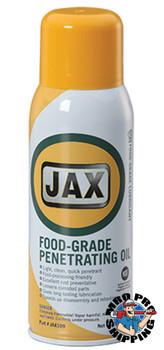 JAX #109 PENETRATING OIL Food Grade Lubricant USDA / NSF H1 12/11 oz. Aerosol Cans/Case