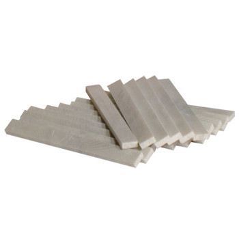 Best Welds Soapstones, Flat, 1/2 in x 3/16 x 5 in, White (144 EA)