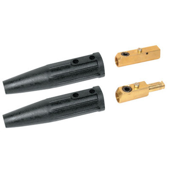 Best Welds Cable Connector, Ball Point Connection, 1/0 Cap. (1 EA)