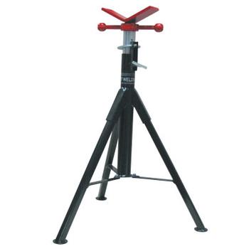 Best Welds Folding Pipe Stands, V-Head, 2,500 lb Cap., 1 1/2 in Pipe (1 EA)