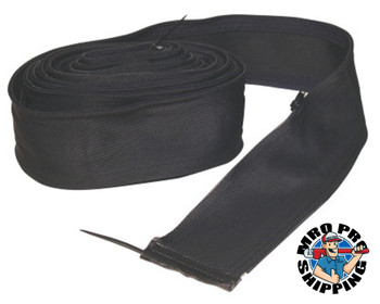 Best Welds Best Welds Cable Covers with Zipper, Small, Black Nylon, 22 ft (1 EA)