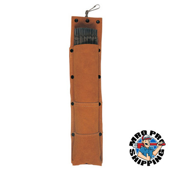 Best Welds Rod Bags, For 14 in Electrode, Leather, Brown (1 EA)