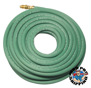 Best Welds Single Line Welding Hoses, 1/4 in, 25 ft, Argon, Green (1 KT)