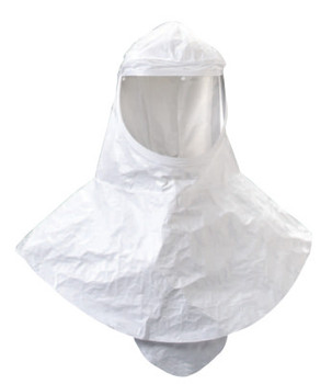 3M Hood and Head Cover Accessories, Hood w/Visor & Shroud, For Supplied Air Systems (10 EA)