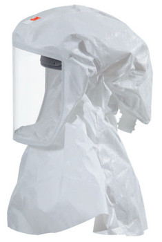 3M S-Series Hoods and Headcovers, Hood w/ Integrated Suspension, M/L, White (5 EA)