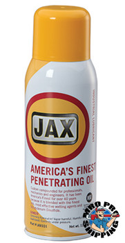 JAX #101 AMERICA'S FINEST PENETRATING OIL  USDA / NSF H2, 11 oz. Aerosol, (1 CAN/EA)