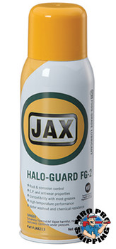 JAX #213 HALO-GUARD FG-2 GREASE, FOOD GRADE HIGH TEMPERATURE, EP, CORROSION CONTROL, 11 oz. Aerosol, (1 CAN/EA)