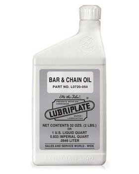 LUBRIPLATE BAR & CHAIN OIL, 1 Quart, (1 BTL/EA)