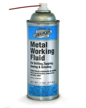 LUBRIPLATE METAL WORKING FLUID, 11 oz. Aerosol, (1 CAN/EA)