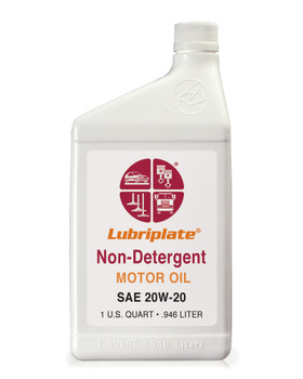 LUBRIPLATE NON-DET. MOTOR OIL -  20W-20, 1 Quart, (1 BTL/EA)