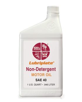 LUBRIPLATE NON-DET. MOTOR OIL -  40, 1 Quart, (1 BTL/EA)
