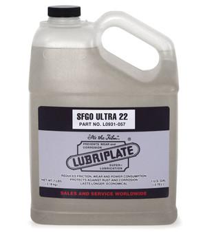 LUBRIPLATE SFGO ULTRA 22, 1 gal., (1 JUG/EA)