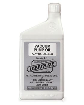 LUBRIPLATE VACUUM PUMP OIL, 1 Quart, (1 BTL/EA)