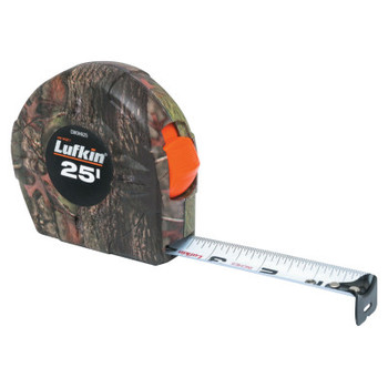 Apex Tool Group Camo Tape Measures, 1 in x 25 ft (1 EA/DZ)