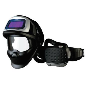 3M Adflo PAPR with 3M Speedglas Welding Helmet 9100FX Air, 8-13; Shade 5, Black (1 EA/CA)