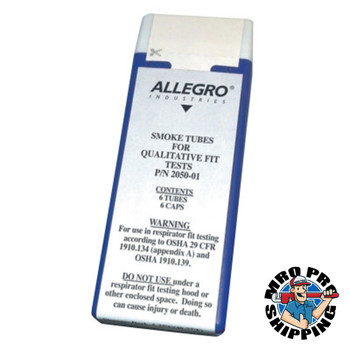 Allegro Deluxe Pump Smoke Test Kit Replacement Tubes (6 BX/DZ)