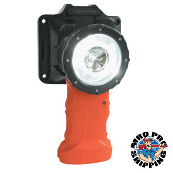 Bright Star Responder Right Angle LED Lights with Lithium Ion Technology, Safety Orange (1 EA/CA)