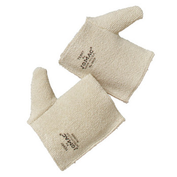 Wells Lamont Jomac Hand Pads, 100% Terrycloth Loop-Out, Natural White (12 DZ/DZ)