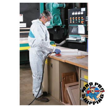 3M Disposable Protective Coverall 4520 Series, Teal/White, X-Large (25 CA/DZ)