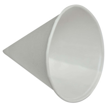 Konie Cups Paper Cone Cups, 4 oz, White (5000 CA/DZ)