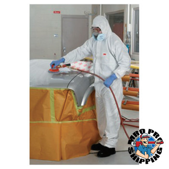 3M Disposable Protective Coverall 4510 Series, White, 2X-Large (25 CA/DZ)