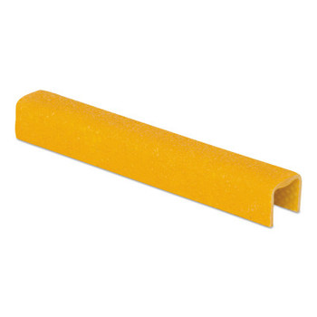 Rust-Oleum Industrial SafeStep Anti-Slip Ladder Rung Covers, 1 in x 12 in, Yellow (6 EA/DZ)