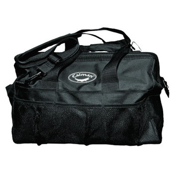 Caiman Gator-Mouth Tool Bags, 20 Compartments, 13 in x 20 in, Black (1 EA/EA)