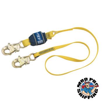 Capital Safety EZ-Stop Shock Absorbing Lanyard, 4 ft, Self-Locking Snap Hook, 310lb Cap (1 EA/DZ)
