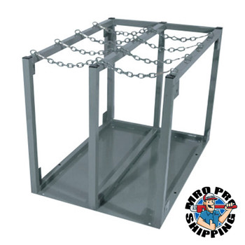 "Anthony Cylinder Racks, 29""W x 40""D x 30""H, Gray, Steel (1 EA/DZ)"