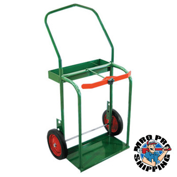 """Anthony High-Rail Frame Dual-Cylinder Carts, 25""""W x 46""""H, Solid Rubber Wheels (1 EA/DZ)"""