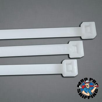 Anchor Products General Purpose Cable Ties, 40 lb Tensile Strength, 5.7 in, Red, 100 per bag (100 BG/CA)