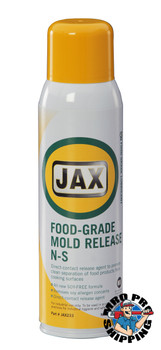 JAX #233 FOOD GRADE MOLD RELEASE NS (Non-Soy Based), 20 oz., (12 CANS/CS)