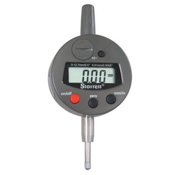 L.S. Starrett 3600 Series Electronic Digital Indicator, 12.7 mm Range,  Metric (1 EA/CA)
