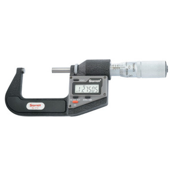 """L.S. Starrett 3733 Series Electronic Micrometer without Output, 1""""-2"""", .0001"""", Inch/Metric (1 EA/CA)"""