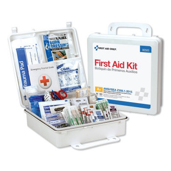 First Aid Only 50 Person Bulk Plastic First Aid Kit, ANSI Compliant (1 EA/CA)