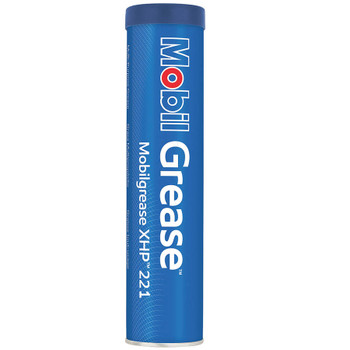 MOBIL Grease XHP 221, 14 oz. Cartridge, (10 CT/PK)