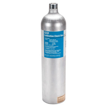 MSA Calibration Gas Cylinder for CO Gas (100 ppm), For Ultima X Series Gas Monitors (1 EA/CA)