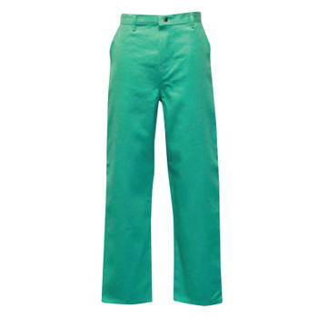 Stanco Classic Style Work Pants, 46 X 34, Green (1 PR/EA)