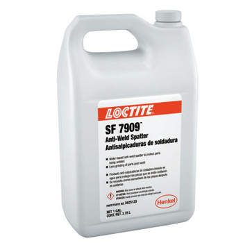 LOCTITE SF 7909 Anti-Weld Spatters, 1 gal, Clear (4 EA/CT)