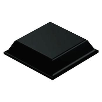 3M Bumpon Tapered Square Bumpers, Black, Polyurethane, .09 X .41 (3000 PC/DR)