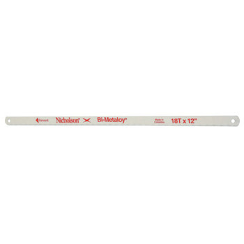 Apex Tool Group Bi-Metaloy Hand Hacksaw Blades, 12 in, 18 TPI (1 EA/CA)