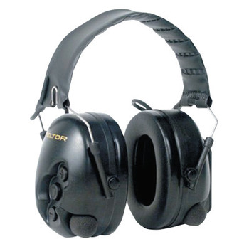 3M Peltor TacticalPro Communications Headsets, 25 dB, Black, Over the Head (1 EA/CA)