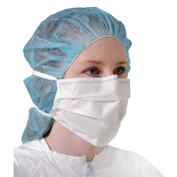 DuPont Sierra Controlled Environments Sterile Face Mask, Universal Size, WH (250 BX/EA)