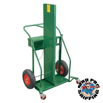 """Anthony Firewall Series Carts, Holds 244 - 330 cu ft Cylinders, 4"""" Wheels (1 EA/EA)"""