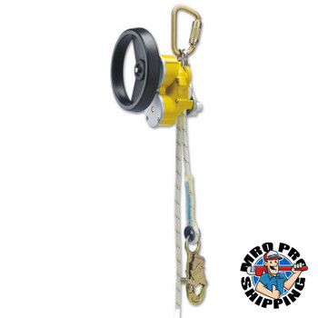 Capital Safety Rollgliss R550 Rescue and Descent Devices, 50 ft, w/ Rescue Wheel; Anchor Sling (1 EA/EA)