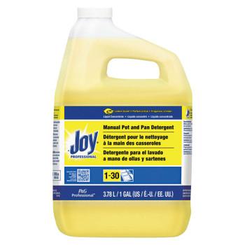 Procter & Gamble Joy Dishwashing Liquid, Lemon Scent, 1 Gallon Jug (4 CA/EA)