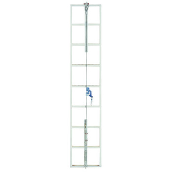 MSA Sure Climb Ladder Cable System, 35 ft, Steel (1 EA/EA)