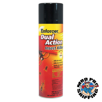 Zep Inc. Dual Action Insect Killer, 16 oz  Aerosol Can (12 CA/EA)