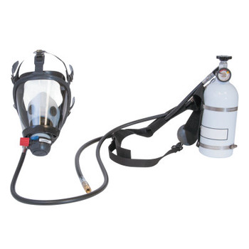 Honeywell Pressure Demand Supplied Air Respirator w/Harness, 5 Minute Hip-Pac, Facepiece (1 EA/EA)